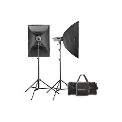 Softbox 40x60cm Walimex studioset Daylight-set 250